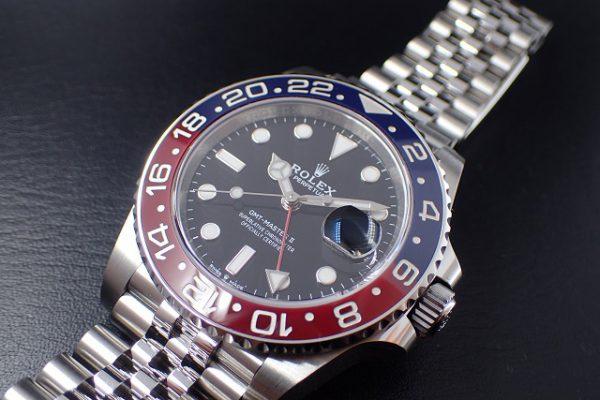 相場高騰中!早めの購入をオススメします GMT-MASTER II Ref.126710BLRO