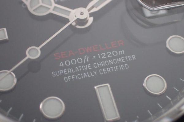 2020年製 SEA-DWELLER REF.126600 赤シード