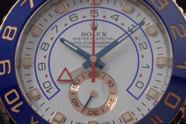 スポーティかつエレガント ヨットマスターII REF.116681